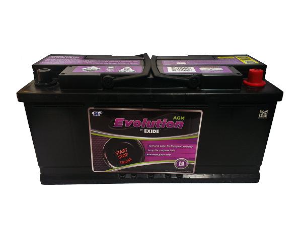exide evolution stop start battery ssagm 95eu comet battery replacement. Black Bedroom Furniture Sets. Home Design Ideas